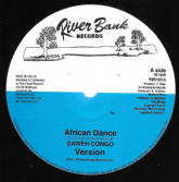 Daweh Congo - African Dance / version / Henry Tenue - version (River Bank) 10""